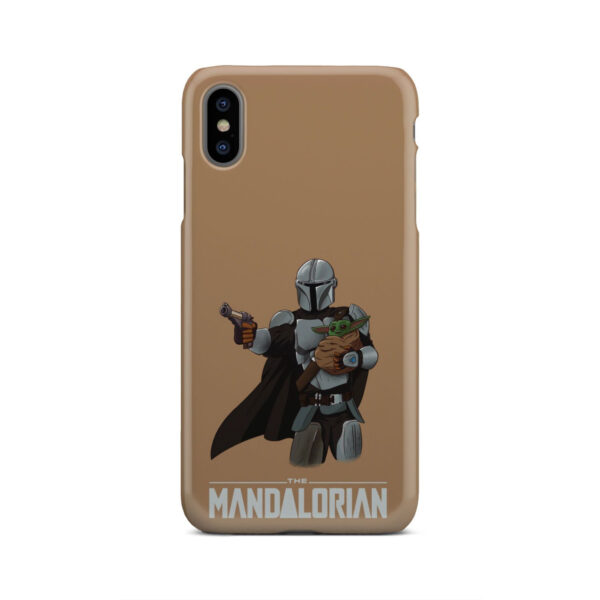 The Mandalorian and Baby Yoda for Amazing iPhone XS Max Case