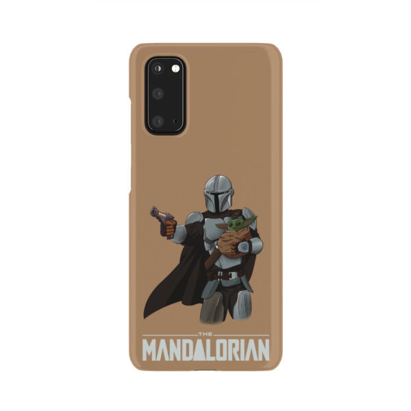 The Mandalorian and Baby Yoda for Best Samsung Galaxy S20 Case