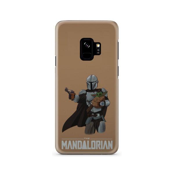 The Mandalorian and Baby Yoda for Custom Samsung Galaxy S9 Case