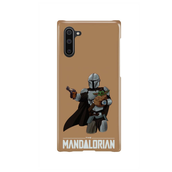 The Mandalorian and Baby Yoda for Premium Samsung Galaxy Note 10 Case