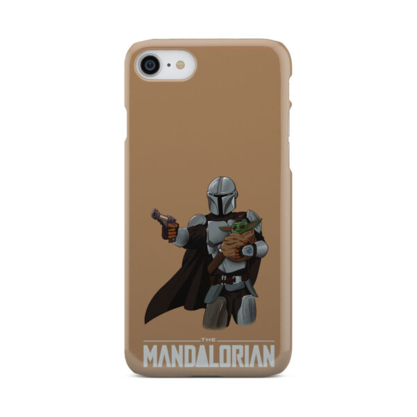 The Mandalorian and Baby Yoda for Unique iPhone 7 Case Cover