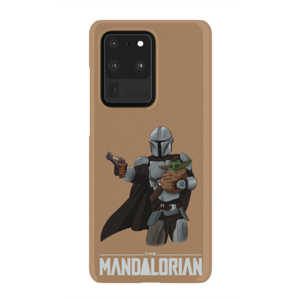 The Mandalorian and Baby Yoda for Unique Samsung Galaxy S20 Ultra Case