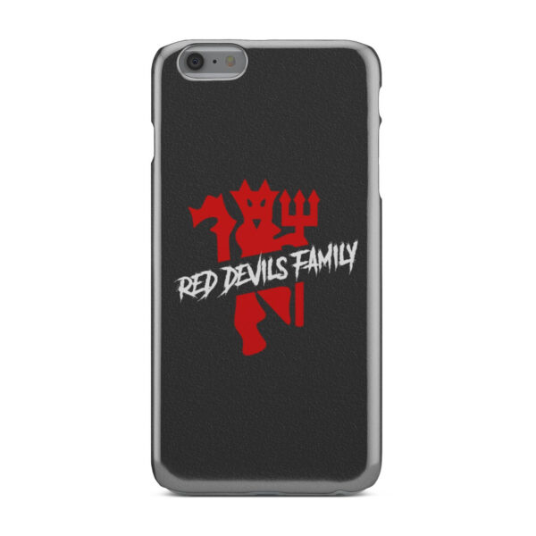 The Red Devils MU for Best iPhone 6 Plus Case