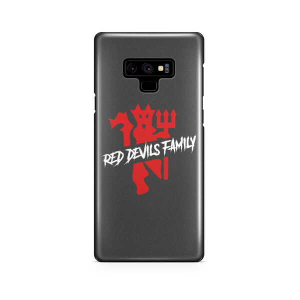 The Red Devils MU for Cool Samsung Galaxy Note 9 Case