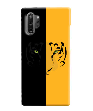 Tiger Yellow and Black for Beautiful Samsung Galaxy Note 10 Plus Case