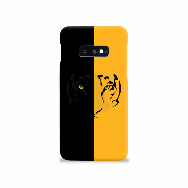 Tiger Yellow and Black for Beautiful Samsung Galaxy S10e Case