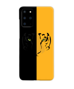 Tiger Yellow and Black for Best Samsung Galaxy S20 Plus Case Cover