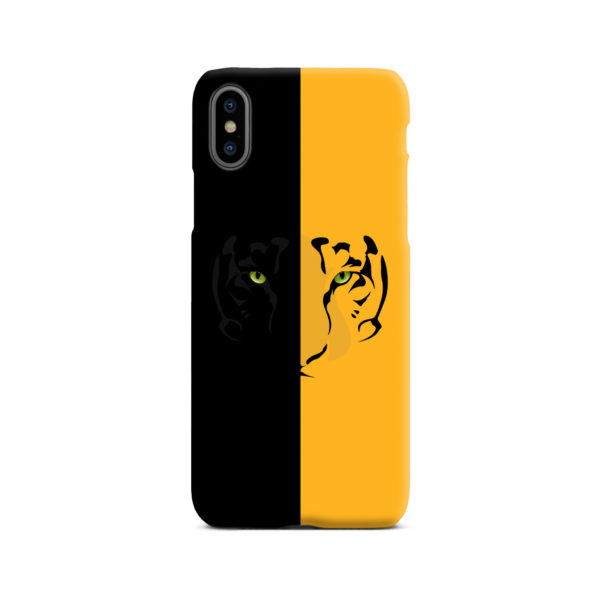 Tiger Yellow and Black for Custom iPhone X / XS Case Cover