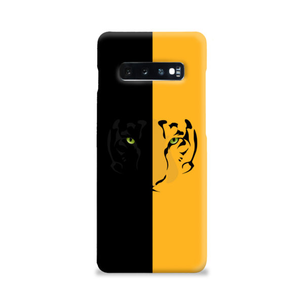 Tiger Yellow and Black for Custom Samsung Galaxy S10 Plus Case