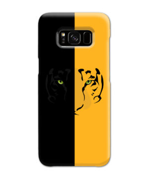 Tiger Yellow and Black for Custom Samsung Galaxy S8 Case Cover