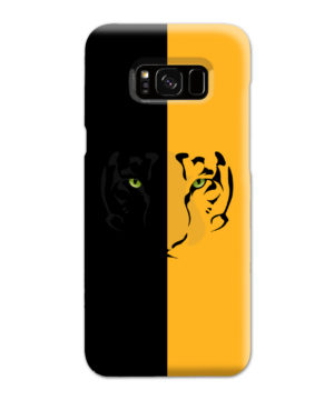 Tiger Yellow and Black for Custom Samsung Galaxy S8 Plus Case Cover