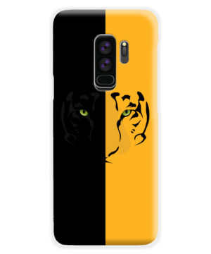 Tiger Yellow and Black for Custom Samsung Galaxy S9 Plus Case Cover