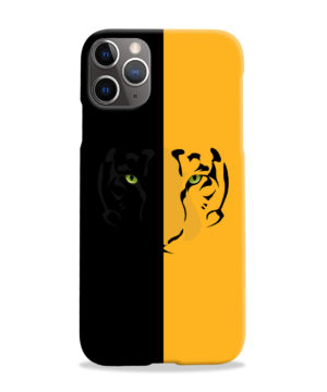 Tiger Yellow and Black for Customized iPhone 11 Pro Max Case