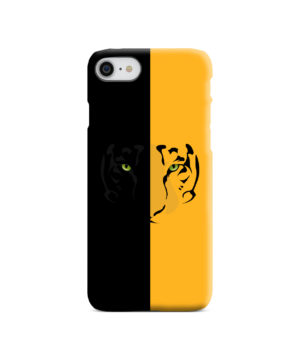 Tiger Yellow and Black for Cute iPhone 8 Case Cover