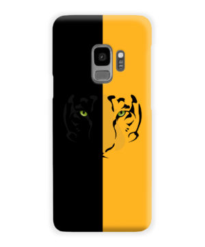 Tiger Yellow and Black for Trendy Samsung Galaxy S9 Case Cover