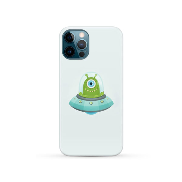 Ufo Alien for Stylish iPhone 12 Pro Case Cover