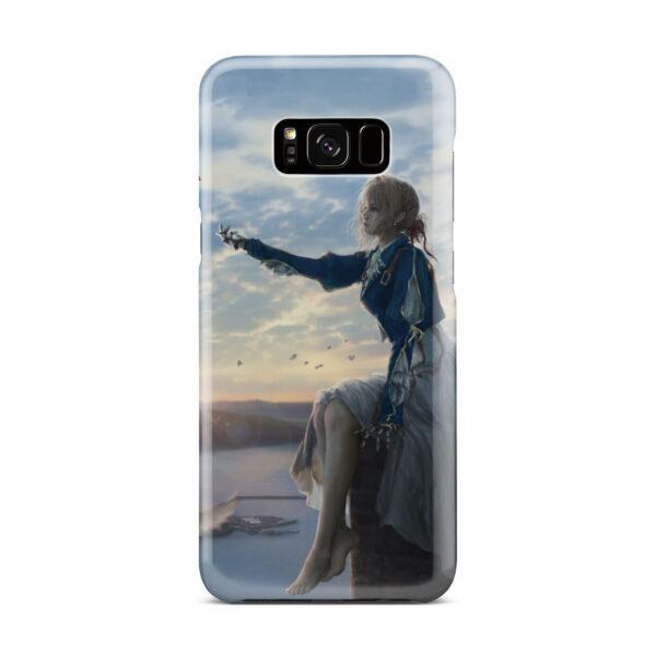 Violet Evergarden for Best Samsung Galaxy S8 Plus Case