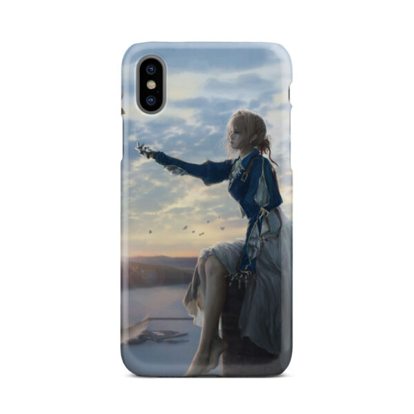 Violet Evergarden for Custom iPhone X / XS Case Cover