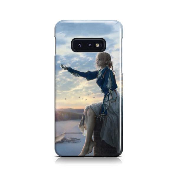 Violet Evergarden for Premium Samsung Galaxy S10e Case
