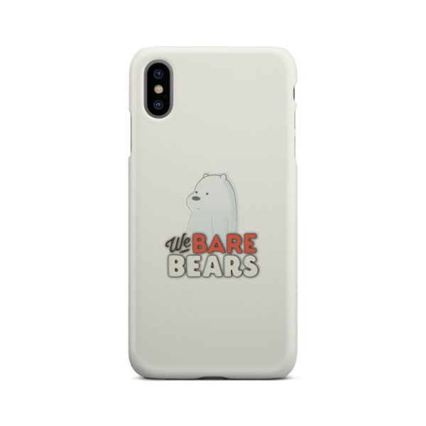 We Bare Bears Cartoon for Amazing iPhone XS Max Case