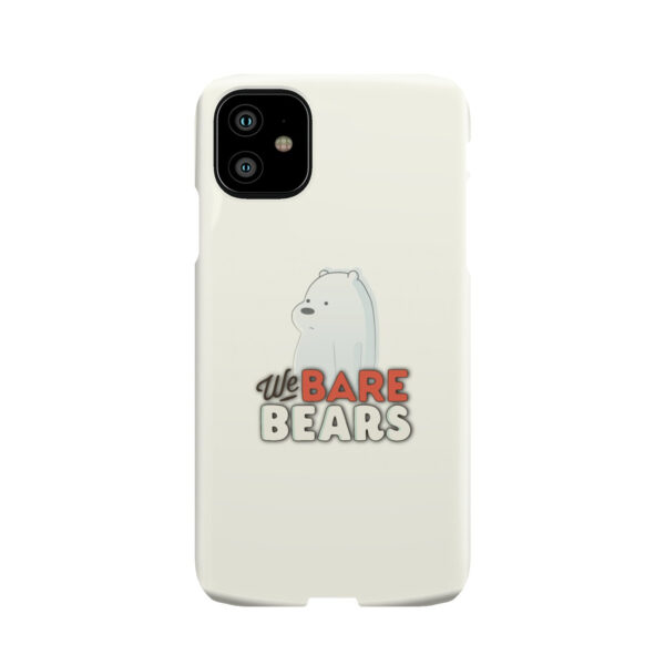 We Bare Bears Cartoon for Beautiful iPhone 11 Case Cover