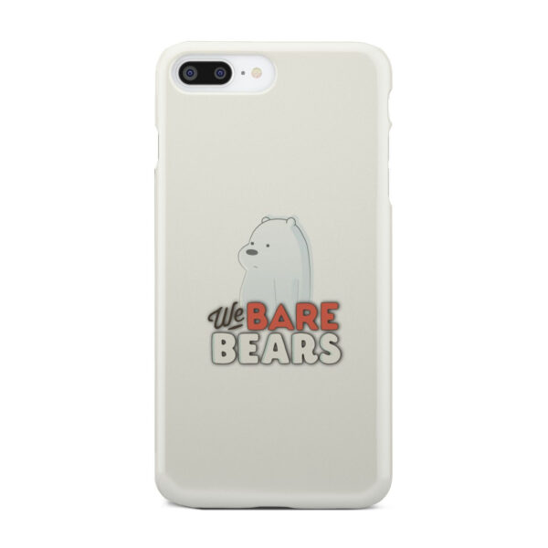 We Bare Bears Cartoon for Beautiful iPhone 7 Plus Case Cover