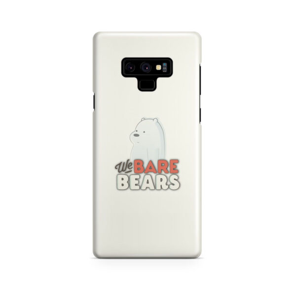 We Bare Bears Cartoon for Beautiful Samsung Galaxy Note 9 Case Cover