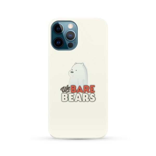 We Bare Bears Cartoon for Best iPhone 12 Pro Max Case