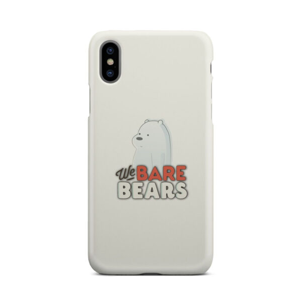 We Bare Bears Cartoon for Best iPhone X / XS Case