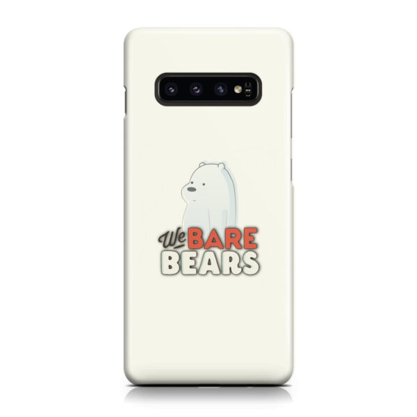 We Bare Bears Cartoon for Cool Samsung Galaxy S10 Case Cover