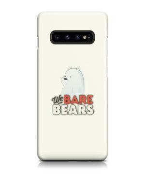 We Bare Bears Cartoon for Cute Samsung Galaxy S10 Plus Case Cover