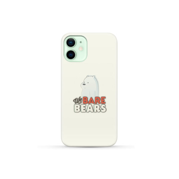 We Bare Bears Cartoon for Personalised iPhone 12 Mini Case