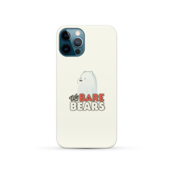 We Bare Bears Cartoon for Stylish iPhone 12 Pro Case Cover