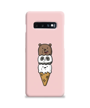 We Bare Bears Ice Cream for Amazing Samsung Galaxy S10 Plus Case