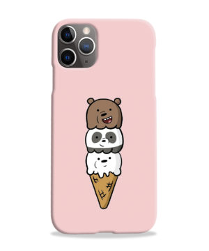 We Bare Bears Ice Cream for Cute iPhone 11 Pro Max Case