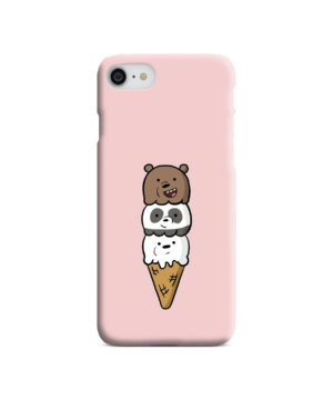 We Bare Bears Ice Cream for Cute iPhone 8 Case
