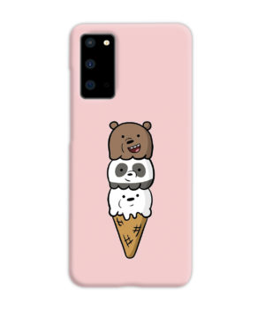 We Bare Bears Ice Cream for Newest Samsung Galaxy S20 Case Cover