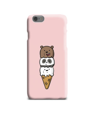 We Bare Bears Ice Cream for Personalised iPhone 6 Case Cover