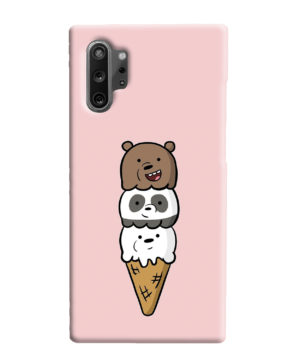 We Bare Bears Ice Cream for Simple Samsung Galaxy Note 10 Plus Case Cover
