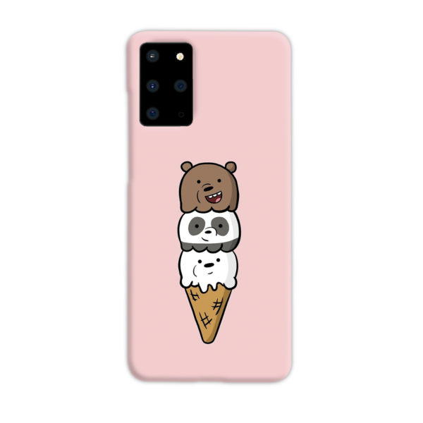 We Bare Bears Ice Cream for Stylish Samsung Galaxy S20 Plus Case