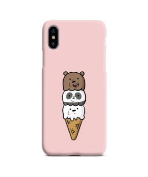 We Bare Bears Ice Cream for Trendy iPhone X / XS Case