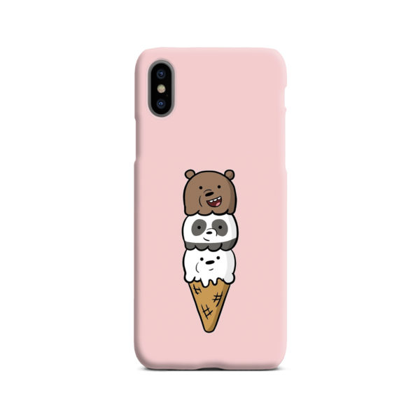 We Bare Bears Ice Cream for Trendy iPhone X / XS Case