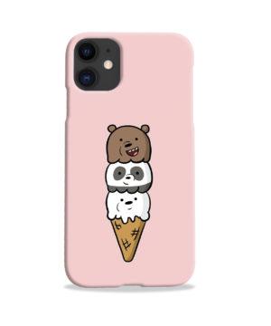 We Bare Bears Ice Cream for Unique iPhone 11 Case