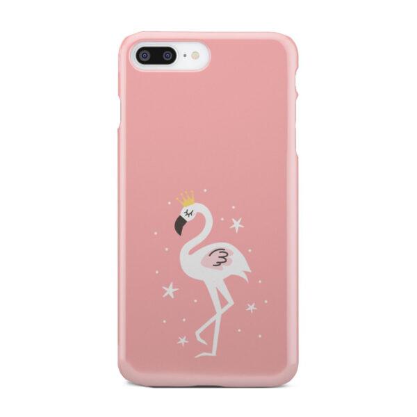 White Flamingo for Custom iPhone 8 Plus Case