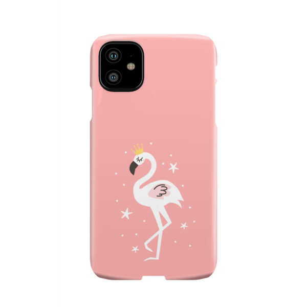 White Flamingo for Newest iPhone 11 Case Cover