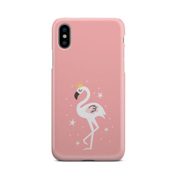 White Flamingo for Premium iPhone X / XS Case Cover