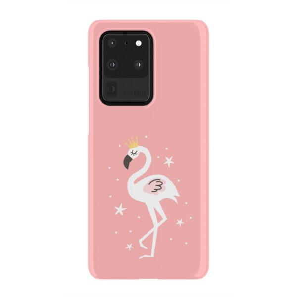 White Flamingo for Unique Samsung Galaxy S20 Ultra Case Cover