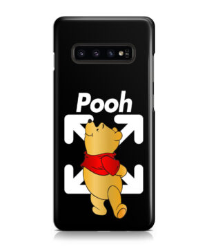 Winnie The Pooh Off White for Amazing Samsung Galaxy S10 Case Cover