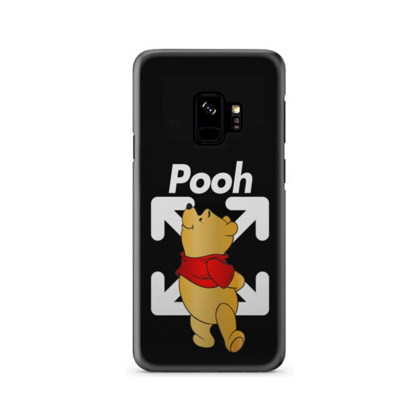 Winnie The Pooh Off White for Personalised Samsung Galaxy S9 Case Cover