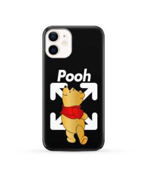 Winnie The Pooh Off White for Premium iPhone 12 Case Cover